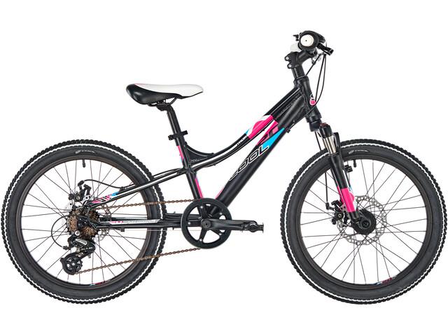 s'cool troX pro 20 7-S Børnecykel sort (2019)   City-cykler